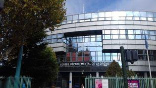 Le siège du Conseil départemental de la Drôme à Valence. (RADIO FRANCE / FLORENCE GOTSCHAUX)