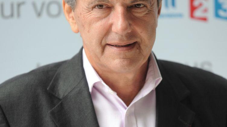 Daniel Bilalian, le 27 août 2009 à Paris (France). (MARTIN BUREAU / AFP)