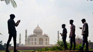 Le Taj Mahal a rouvert ses portes le lundi 21 septembre 2020 après six mois de fermeture en raison du Covid-19. (PAWAN SHARMA / AFP)