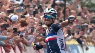 Cyclisme : Julian Alaphilippe sacré champion du monde pour la deuxième année consécutive (France 2)