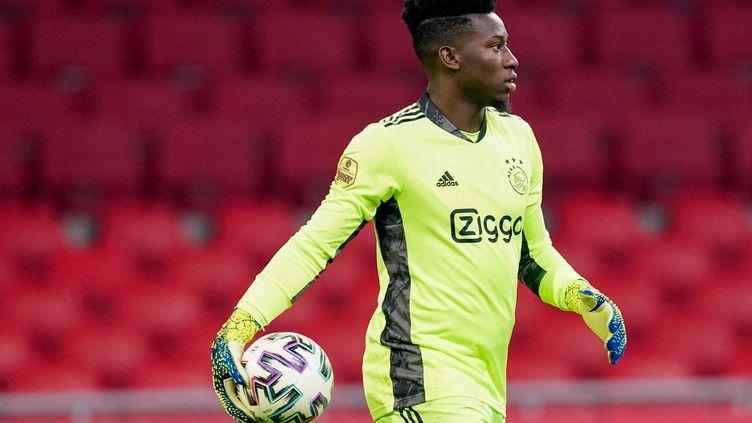 Le gardien de l'Ajax Amsterdam Andre Onana. (GEERT VAN ERVEN / ORANGE PICTURES)