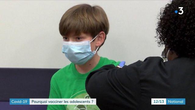 Covid-19 : la vaccination bientôt ouverte aux 12-18 ans