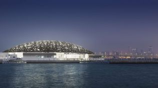 Le Louvre d'Abu Dhabi  (Sipa )