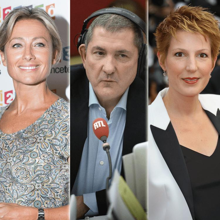 David Pujadas, Anne-Sophie Lapix, Yves Calvi, Natacha Polony, Bruce Toussaint... Oùles retrouverez-vous à la rentrée ? (AFP / MAXPPP / SIPA)