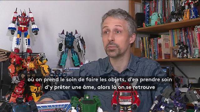"""Corentin Maignien, vrai passionné des """"Transformers"""""""
