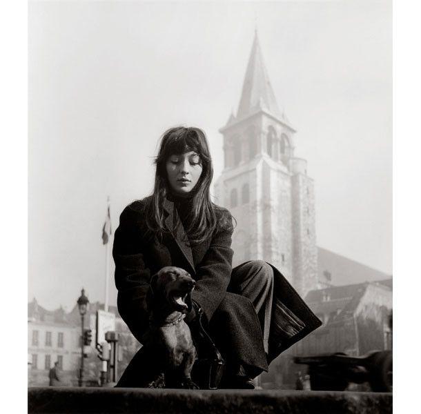 Robert Doisneau, Juliette Gréco, Saint-Germain-des-Prés, 1947  (Atelier Robert Doisneau)