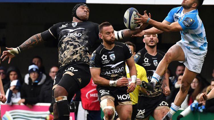 Le 20 janvier 2018, lors du match de Coupe d'Europe entre Montpellier et Leinster. (PASCAL GUYOT / AFP)
