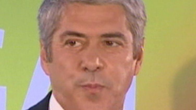 Le Premier ministre portugais, José Socrates. (France 2)