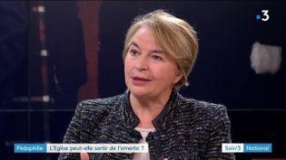 Christine Pedotti, directrice de Témoignage chrétien (France 3)