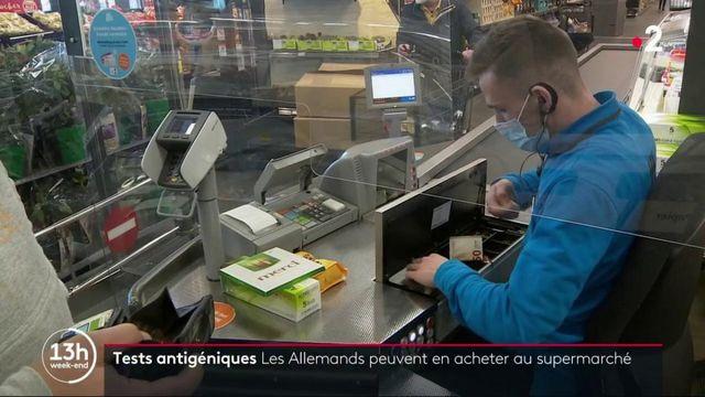 Covid-19 en Allemagne : des tests antigéniques disponibles dans les supermarchés