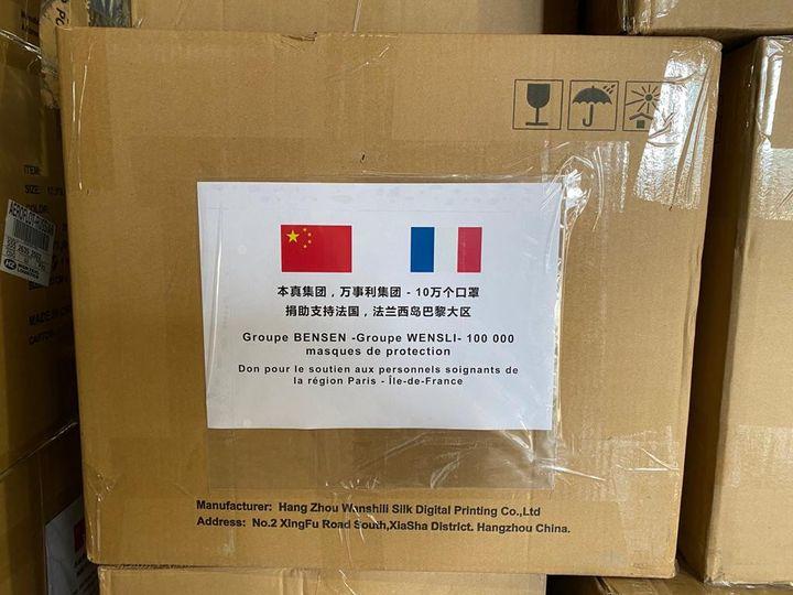 La région Ile de France a commandé des masques chirurgicaux auprès d'un fabricant d'écharpes en soie. Ils se sont révélés conformes aux normes européennes. (DR)