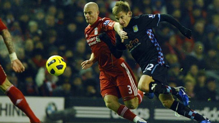 Liverpool-Aston Villa (PAUL ELLIS / AFP)