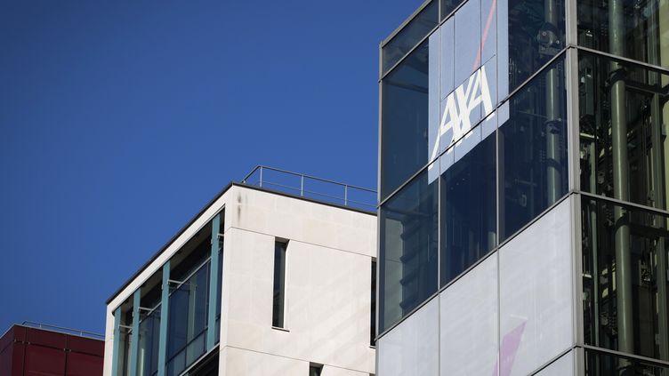 Le siège social d'Axa, à Nanterre (Hauts-de-Seine), en octobre 2018. (JOEL SAGET / AFP)