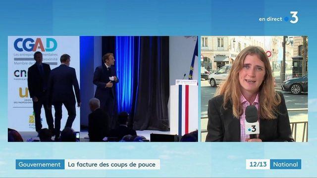 Emmanuel Macron : une multiplication des annonces qui a un coût