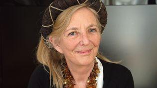 Aude de Kerros, historienne e( critique d'art (2020). (LAURENCE DE TERLINE)