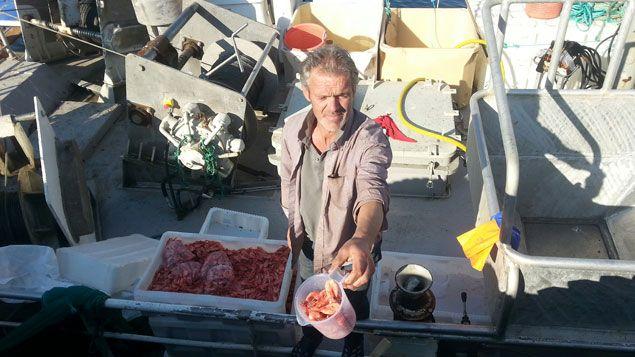 (Olav, le pêcheur de crevettes © Benjamin Illy / RF)
