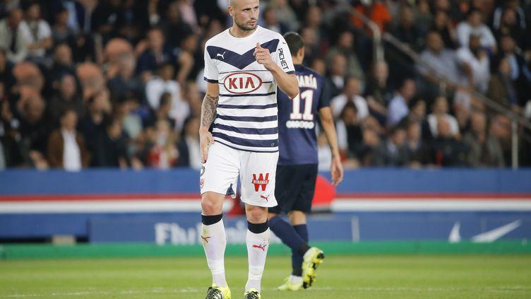 Nicolas Pallois, le défenseur des Girondins de Bordeaux (STEPHANE ALLAMAN / STEPHANE ALLAMAN)