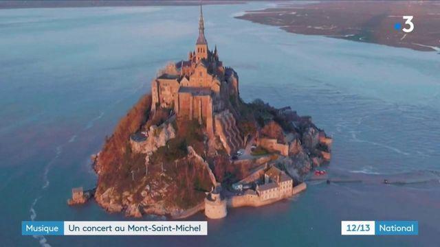 Musique : un concert au Mont-Saint-Michel diffusé sur les réseaux sociaux