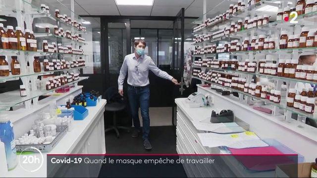 Coronavirus : quand le masque empêche de travailler