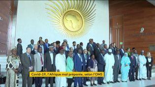 Le coronavirus Covid-19 inquiète l'Afrique (FRANCEINFO)