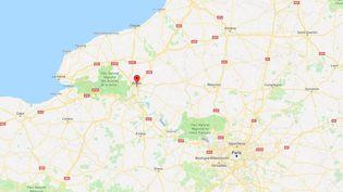 Rouen, enSeine-Maritime. (GOOGLE MAPS)