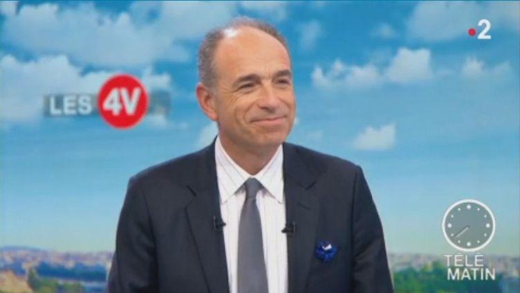 """Édouard Philippe a annoncé vendredi 9 novembre une forte hausse des actes antisémites en France. C'est une """"alerte absolue"""", juge le maire LR de Meaux sur le plateau des """"4 Vérités"""". (FRANCE 2)"""