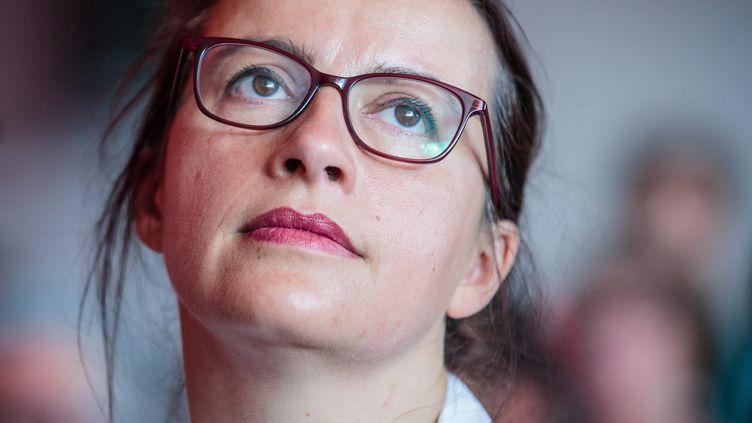 Cécile Duflot, députée de Paris et candidate à la primaire EELV. (MAXPPP)