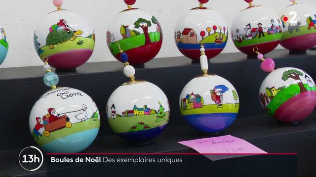 Noël : des créateurs de boules de Noël en difficulté à cause de la crise sanitaire