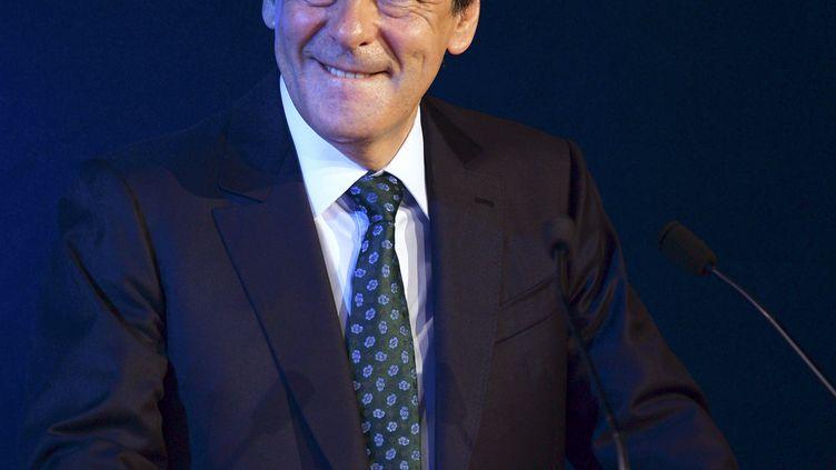 François Fillon le 23 juin 2016 à Paris lors d'un forum économique organisé par l'Institut Montaigne et leMcKinsey Global Insitute. (ERIC PIERMONT / AFP)