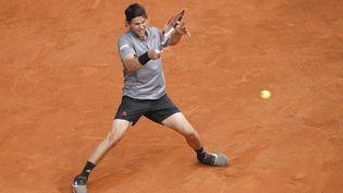 L'Autrichien Dominic Thiem a été mis en difficulté pour son entrée en lice à Rome. (OSCAR GONZALEZ / NURPHOTO / AFP)