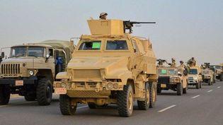 Les troupes égyptiennes se déploient dans le Sinaï (Ministère de la Défense égyptien)