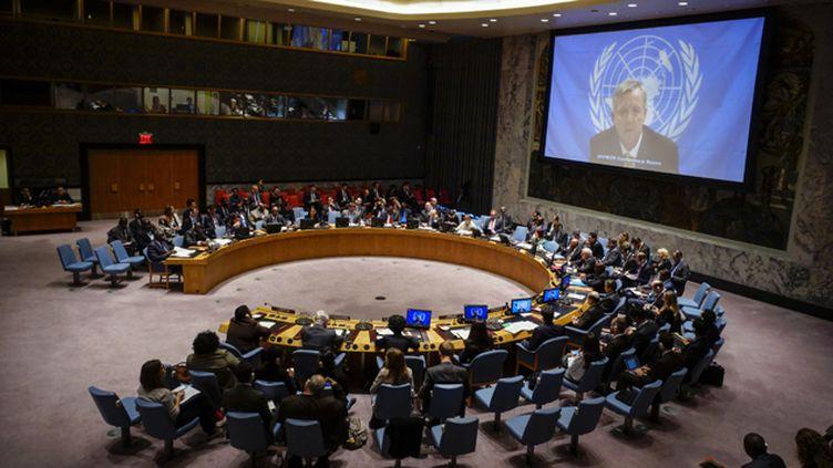 (Le Conseil de sécurité de l'ONU au mois d'octobre 2014. © Reuters)
