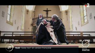 Un extrait du clipde la communauté religieuse de Saint-Jean. (France 2)