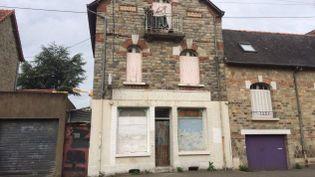 La maison squattée à Rennes, en mai 2015. (A. MASTEAU / FRANCE 3 BRETAGNE)