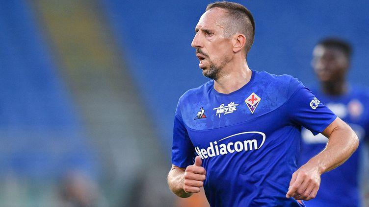 Franck Ribéry va disputer sa deuxième saison avec la Fiorentina (GIUSEPPE MAFFIA / NURPHOTO)