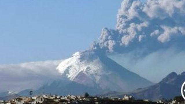 Volcan Cotopaxi : la population voisine en danger