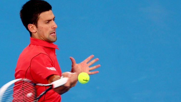 Novak Djokovic  (MARWAN NAAMANI / AFP)