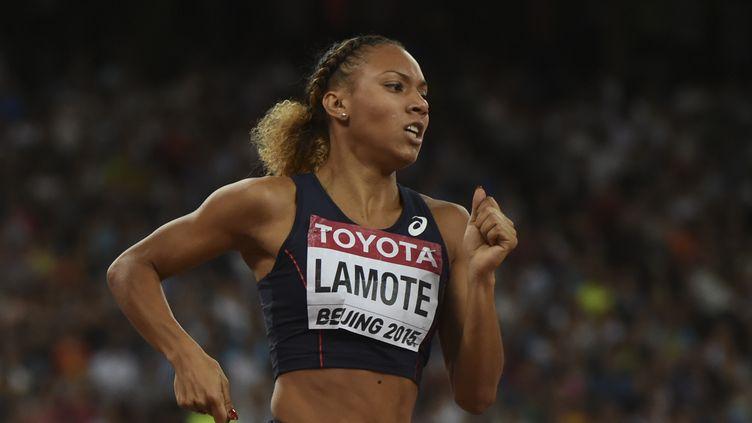 Rénelle Lamote, 8e de la finale du 800m (GREG BAKER / AFP)