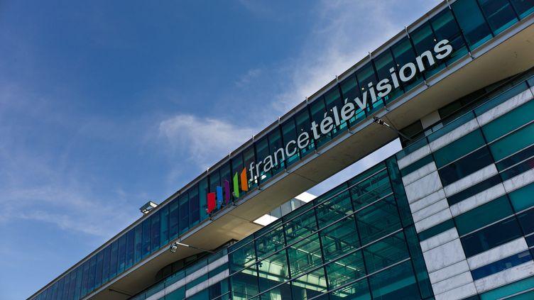 Le siège de France Télévisions, le 16 septembre 2012 à Paris. (MAXPPP)
