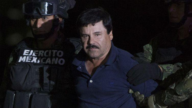(El Chapo lors de son arrestation le 9 janvier 2016©MAXPPP)