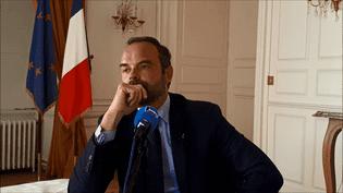 Le Premier ministre, Edouard Philippe. (FRANCE BLEU BERRY)
