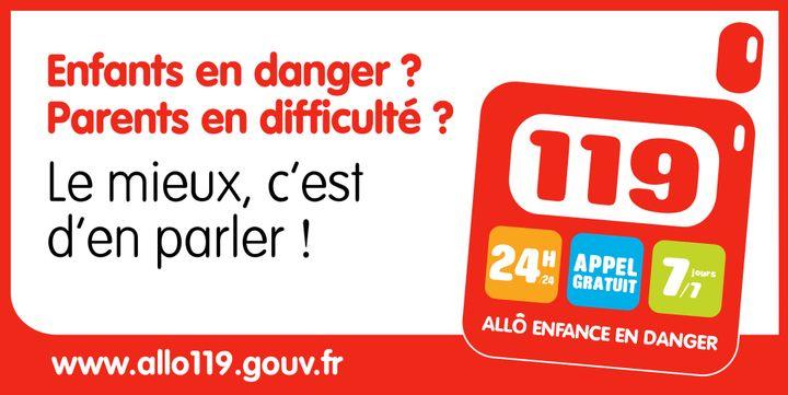 119, allô enfance en danger. (ALLO119.GOUV.FR)