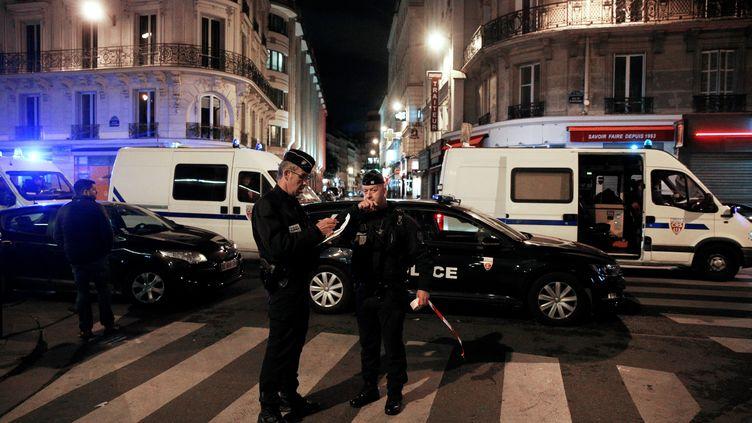 Une attaque au couteau avait été perpétrée près de la place de l'Opéra à Paris, dans la soirée du 12 mai 2018.  (GEOFFROY VAN DER HASSELT / AFP)