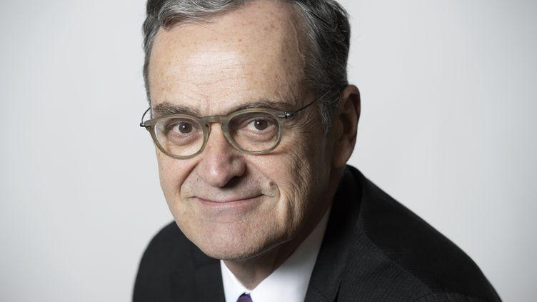 Roch-Olivier Maistre, le président du Conseil supérieur de l'audiovisuel, en janvier 2019  (BERTRAND GUAY / AFP)