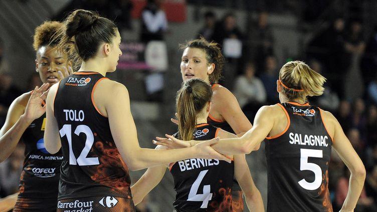 L'équipe de Bourges (JOEL PHILIPPON / MAXPPP)