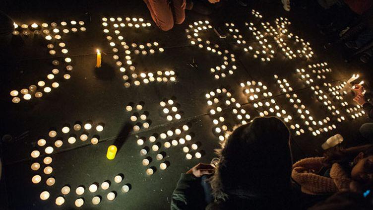 (De nombreux hommages aux victimes de Charlie hebdo ont eu lieu dans toute la france © MAXPPP)