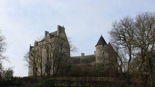 Le château du Bouchet à Rosnay (Indre). (GAËLLE FONTENIT / FRANCE-BLEU BERRY)