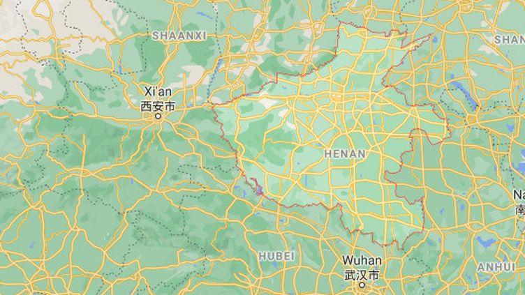 Un incendie s'est déclaré dans une école d'arts martiaux, dans la province du Henan (Chine), dans la nuit du 24 au 25 juin 2021, faisant 18 morts. (GOOGLE MAPS)