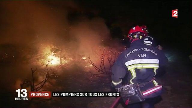 Incendie dans le Var : les flammes font de la résistance