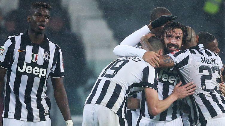 Les Turinois peuvent remercier Pirlo  (MARCO BERTORELLO / AFP)